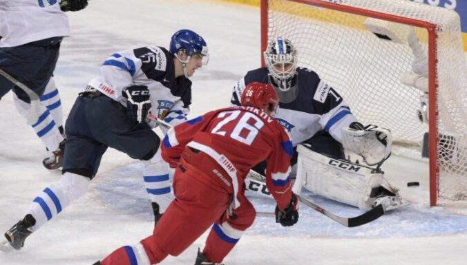 Сборная России U-18 на домашнем ЧМ против финнов вела 4:2, но проиграла