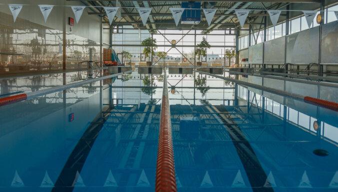 'Elektrum' Olimpiskā centra lielais peldbaseins atsāk darbu, viss komplekss – daļēji
