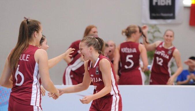 Женская молодежка Латвии замкнула топ-8 на первенстве континента