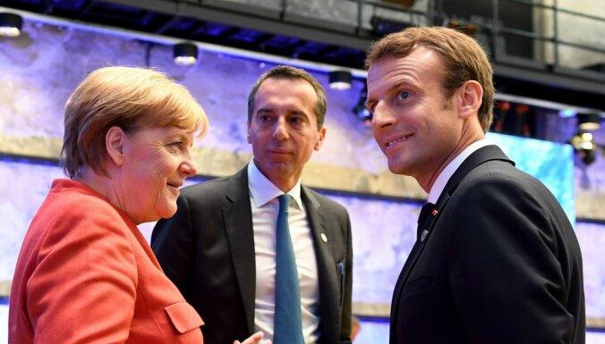Германия поддерживает план Макрона по реформе Евросоюза