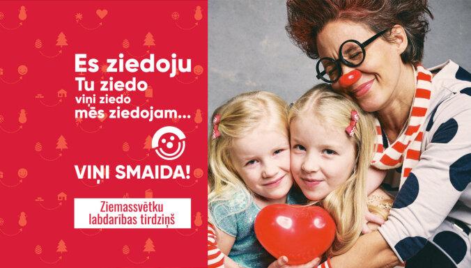 Dakteru Klaunu Ziemassvētku labdarības tirdziņš šogad norisināsies tiešsaistē