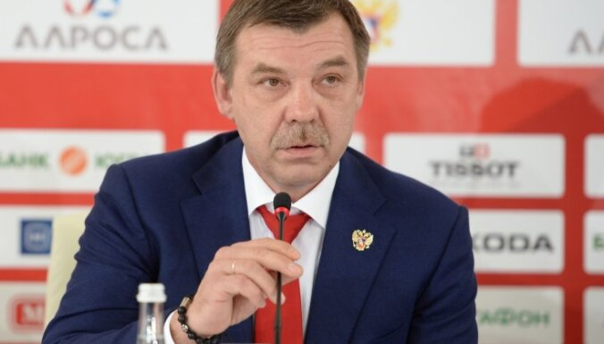 Head coach of the national team Oleg Znarok