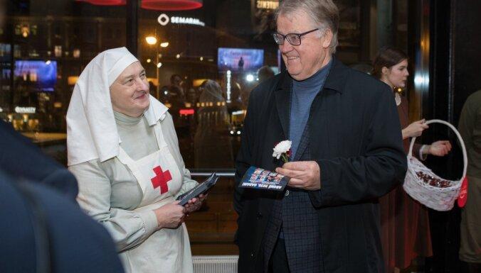ФОТО: премьера киносаги Dvēseļu putenis в 14 залах Forum cinema собрала весь бомонд Латвии