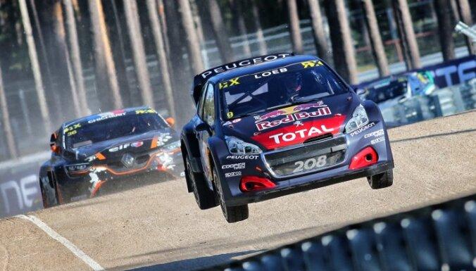 'Peugeot' izstājas no 'World RX'; gaidīs elektroauto čempionātu