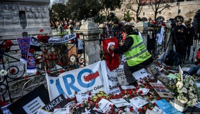 17 Sīrijas pilsoņiem Turcijā draud apsūdzības saistībā ar teroraktu Stambulā