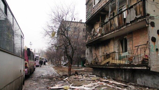 Austrumukrainā krituši četri ukraiņu karavīri