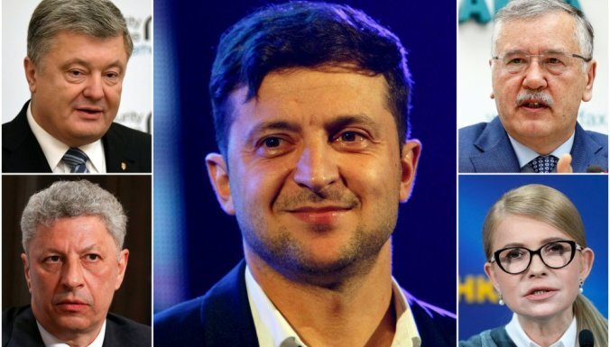Пять лидеров президентской гонки на Украине. Коротко о каждом