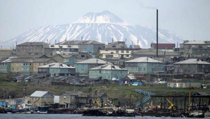 Япония выразила протест России из-за прокладки линии связи на Курилы