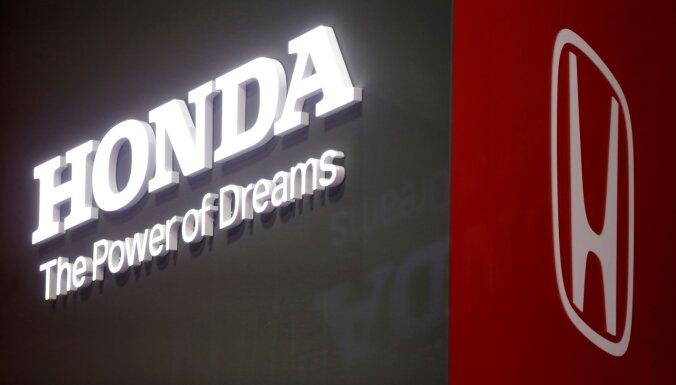 'Honda' uz laiku apturēs ražošanu vairumā Ziemeļamerikas rūpnīcu