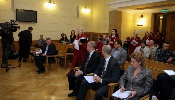 Drošības policija tiesā paziņo: 12.Saeimas vēlēšanās balsu pirkšana nebija masveidīga (plkst.15:27)