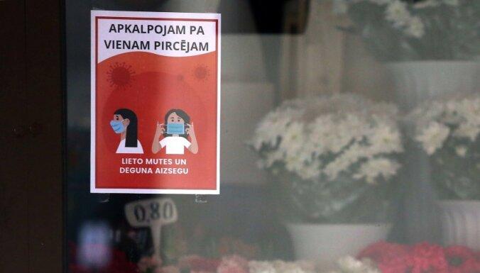 Latvijā ar Covid-19 inficējušies 260 cilvēki; reģistrēti pieci nāves gadījumi
