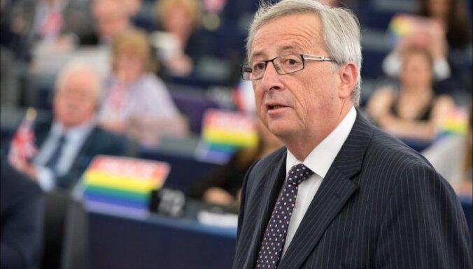 'Eiropas glābšana': Junkers iepazīstina deputātus ar 315 miljardu eiro investīciju plānu