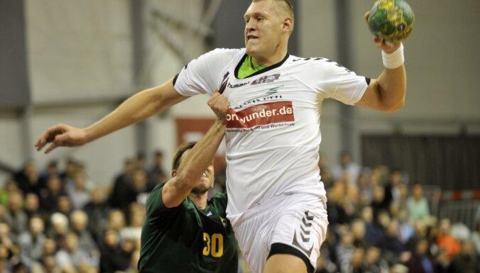 Latvijas handbola izlases līderis Krištopāns karjeru turpinās Baltkrievijā