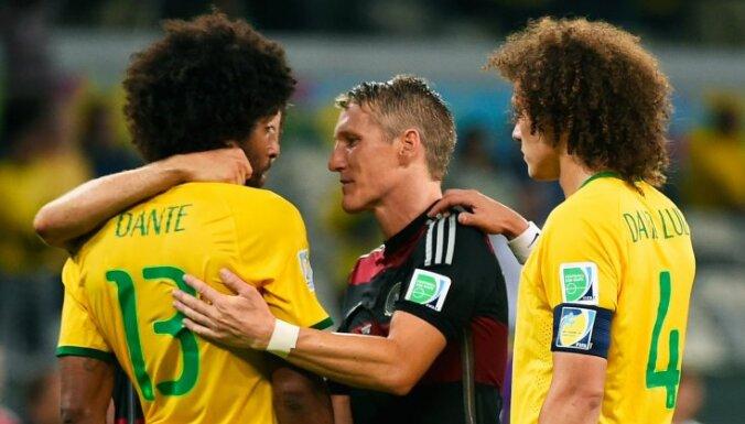 Бразильцы потерпели самое крупное поражение в истории