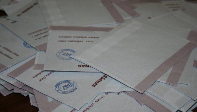 Sāk kriminālprocesu par iespējamu dokumentu viltošanu vēlēšanās