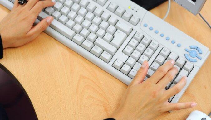 Pērn visvairāk bezdarbnieku ar invaliditāti strādājuši par informācijas ievadīšanas operatoriem un lietvežiem