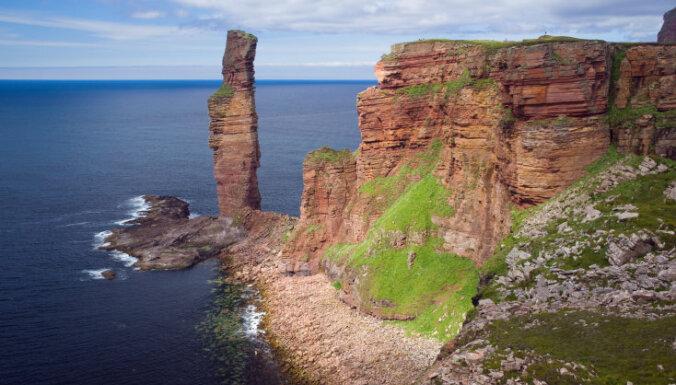 Salas 'vecais vīrs' – tūrisma objekts Skotijā, kas var pazust nebūtībā jebkurā mirklī