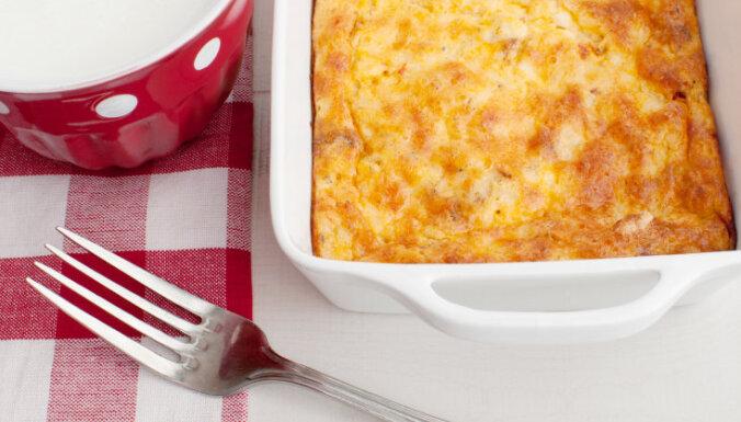 Omlete cepeškrāsnī