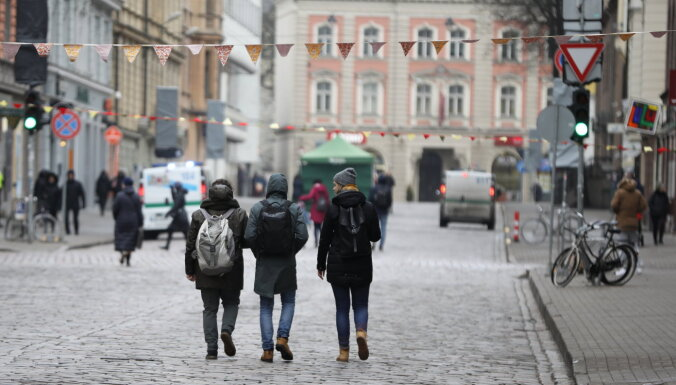 В день эксперимента на улице Блауманя было на 20% больше пешеходов