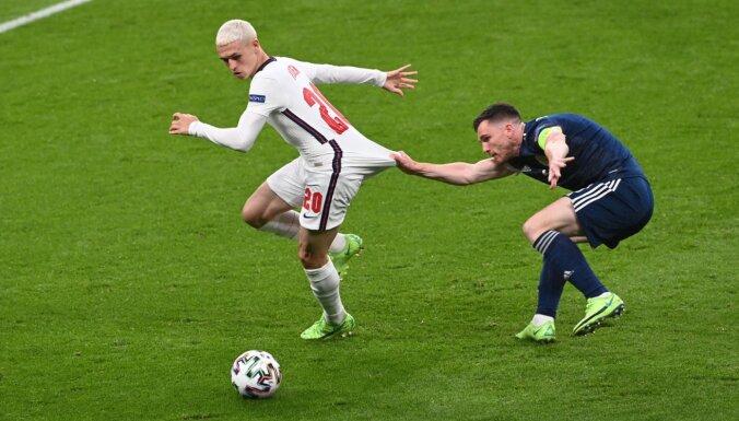 Lielbritānijas futbola derbijā Anglija un Skotija vārtus negūst