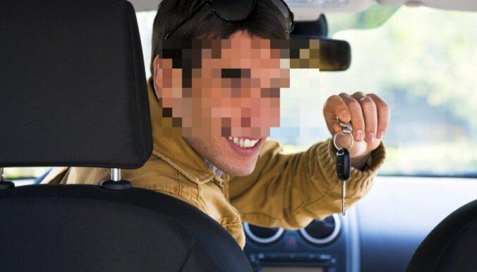 После вечеринки мужчина украл машину и совершил на ней аварию