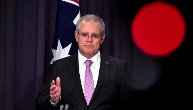 Austrālijas premjers lēnajā vakcinācijas kampaņā vaino ES