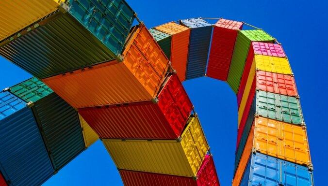 Septembrī ārējās tirdzniecības apgrozījums pieaudzis par 7,7%
