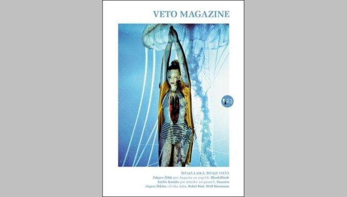 Iznācis 'Veto Magazine' 23. numurs. Tēma – 'īstajā laikā, īstajā vietā'