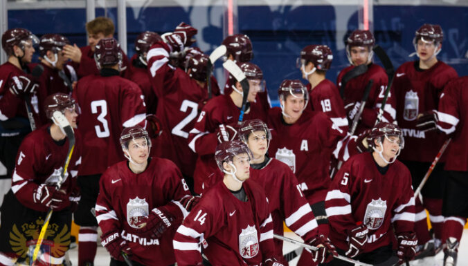 Latvija U-20 hokejs