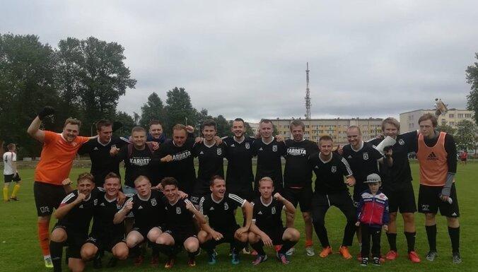 Latvijas kausa ceturtdaļfinālā tiksies divas 2. līgas komandas