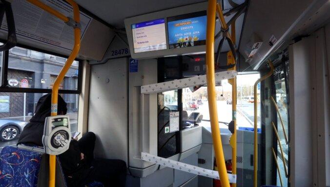 Nedēļas nogalē Rīgas sabiedriskais transports kursēs līdz pulksten 22