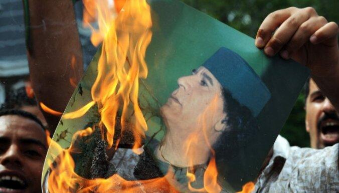 Kadafi spēki kontrolējot Lībijas galvaspilsētu