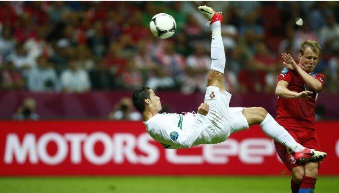 Гол Роналду в ворота Чеха вывел Португалию в полуфинал