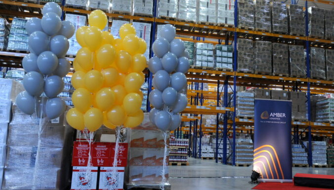 В Стопини открыт новый центр логистики Amber Logistics