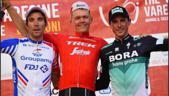 Skujiņš velobraucienā Itālijā izcīna savas karjeras lielāko uzvaru