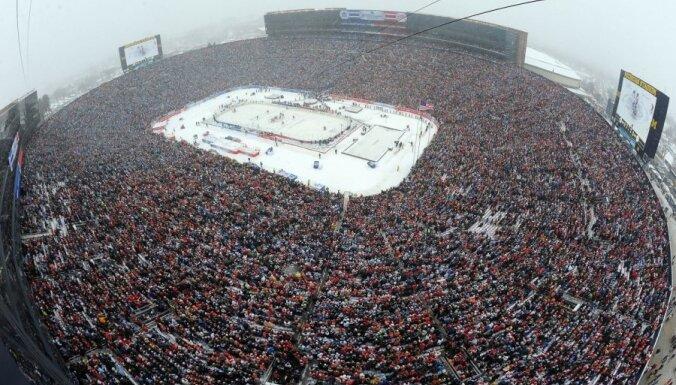 NHL īpašajā simtgades spēlē tiksies Toronto 'Maple Leafs' un Detroitas 'Red Wings'