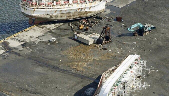 Kaliforniju sasniegušas pirmās atlūzas no Japānas cunami