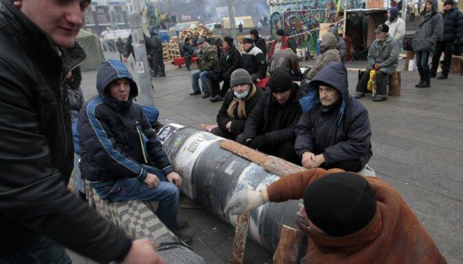 Евромайдан: избран президиум и открыты курсы английского