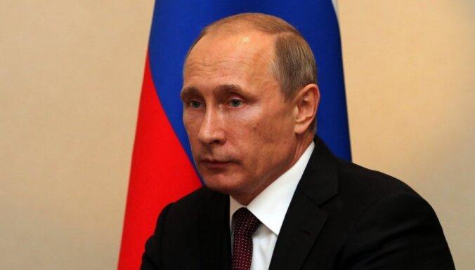 ASV sankcijas pret Krieviju iedzen abu valstu attiecības strupceļā, paziņo Putins