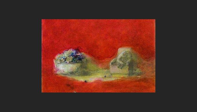 Jūrmalā atklās gleznotājas Laimas Bikšes izstādi