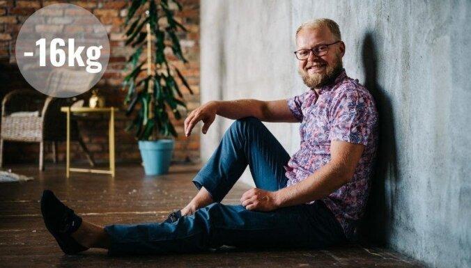 Tests: Latvijā populārāko diētu izmēģina Viktors ar 16 liekiem kg