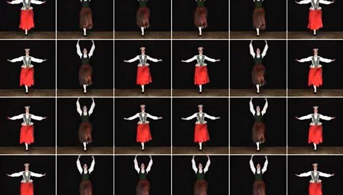 Noskaties! 'Saules zīmē rotāties' – maģiska tautas deja viena cilvēka izpildījumā