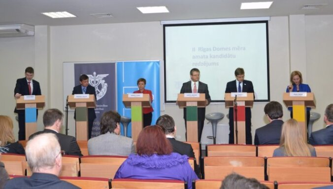 Rīgas mēra amata kandidātiem dažādi viedokļi par to, vai Loginovs nekavējoties jāatlaiž