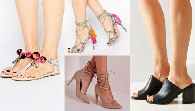 Kurpes, ko šosezon valkās visi jeb Aktuālākie jaunumi apavu modē