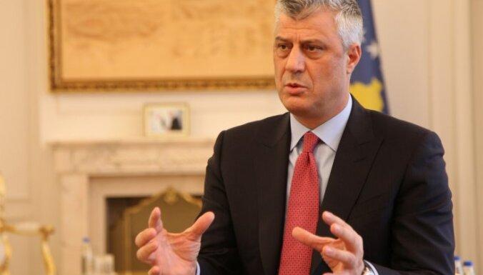 Kosovas prezidents noraida teritoriju apmaiņu ar Serbiju