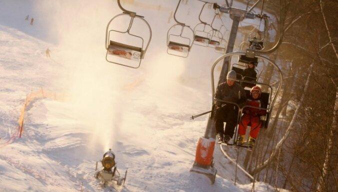 В Латвии открылся горнолыжный сезон