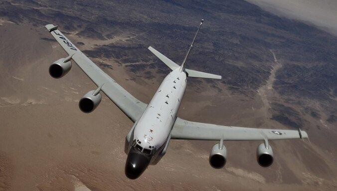 Самолет-разведчик США совершил длительный полет у границ России