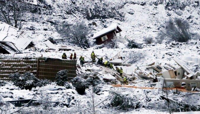 Оползень в Норвегии: среди пропавших оказалась гражданка Литвы