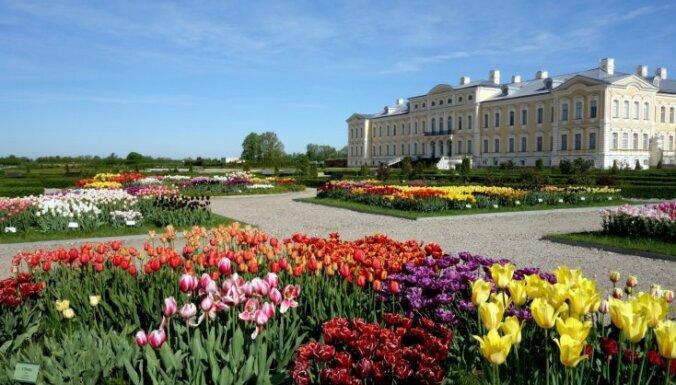 ФОТО: Рундальский дворец открывает новые залы; как шла реставрация