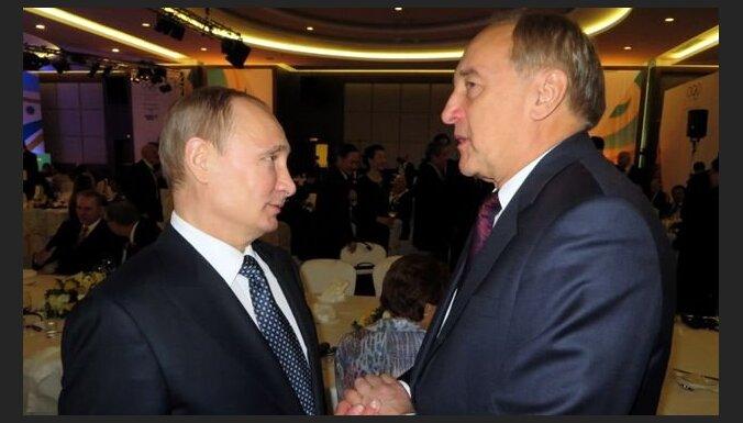 Андрис Берзиньш в Сочи встретился с Владимиром Путиным